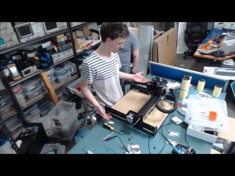 Inventables X-Carve LIVE Build Part 3 + Batteriser Rant