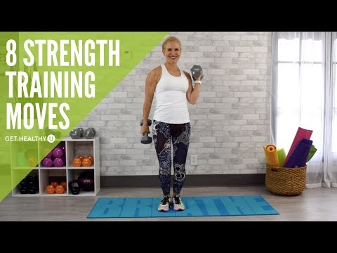 8 Amazing Strength Training Moves for Women Over 50