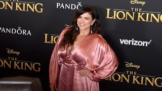 """Gina Carano """"The Lion King' World Premiere Red Carpet"""