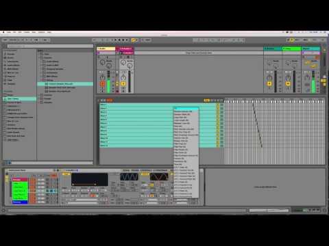 IDM/Glitch Beats 2 (slice randomizing) Ableton Tutorial = Ned Rush