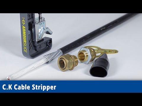 C.K Cable Stripper | Screwfix
