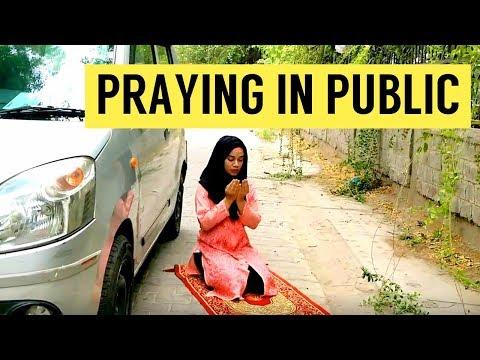 How to Pray Namaz in Public Places | Ramsha Sultan