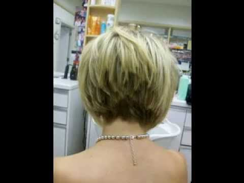 33 Short stacked hairstyles for women