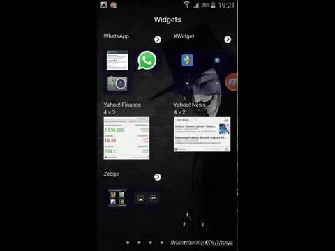 How To Install Galaxy S6 Weather Widget In Any Android Phone