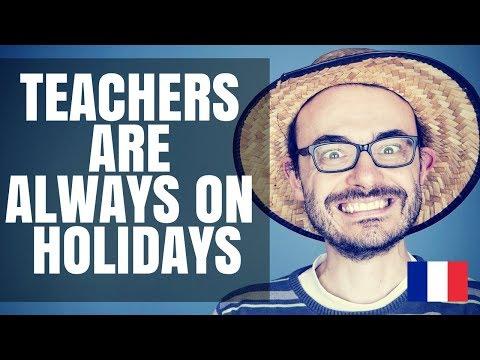 Teachers never work. Holidays and days off #teachingaroundtheworld