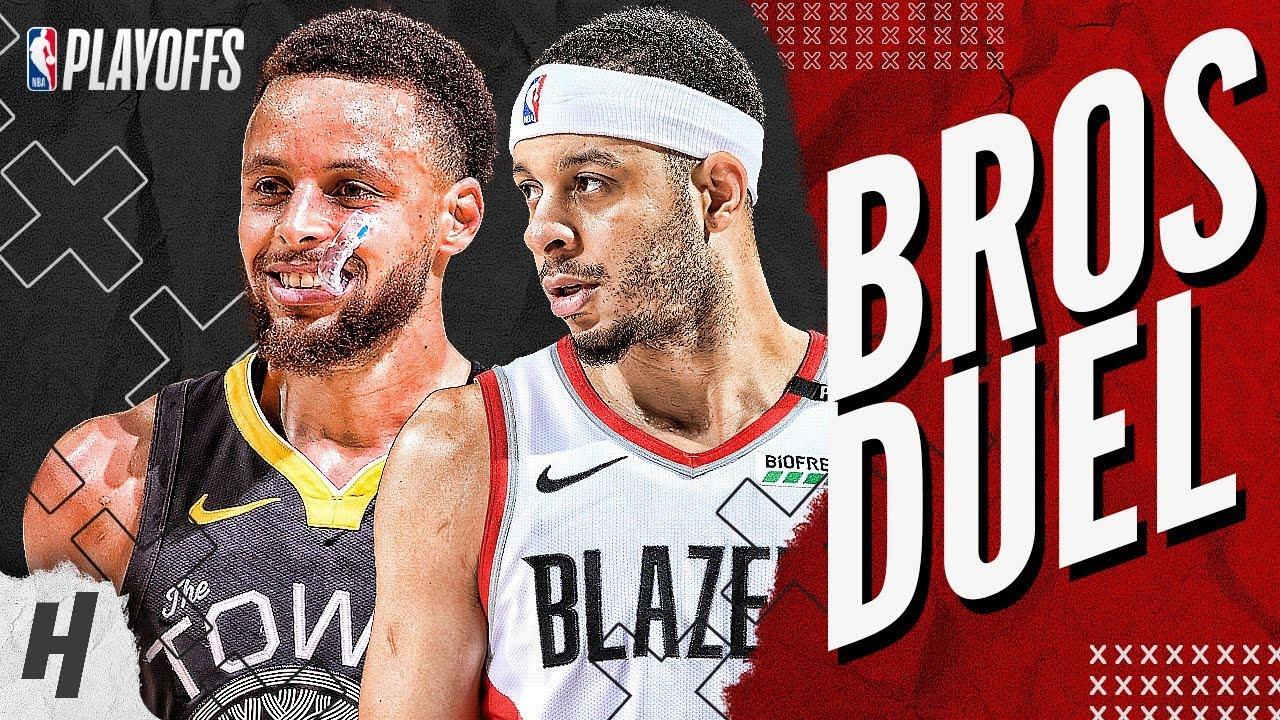 Stephen Curry vs Seth Curry BEST Brothers Moments & Highlights from 2019 NBA West Finals!