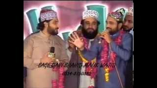 Khalid Hasnain Khalid & Qari shahid Qadri Beautiful Kalam