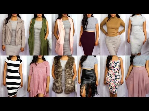 Collective TRY-ON Fall Fashion Haul + new Heels 2015 | Fall Styling Tips