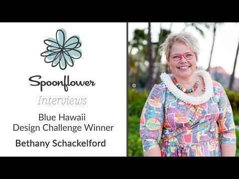 Spoonflower Interviews... Bethany Shackelford AKA bzbdesigner   Spoonflower