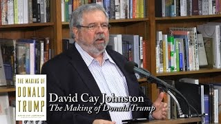 "David Cay Johnston, ""The Making of Donald Trump"""