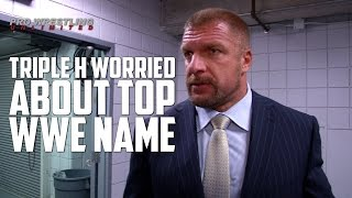 """Triple H """"Very Worried"""" About Top WWE Name, Had Meeting Together Backstage At RAW"""