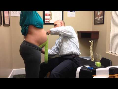 Ease low back pain in pregnancy