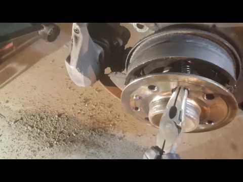 DIY replacing rear brakes on w108 mercedes 280se