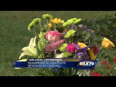 Muhammad Ali's Cave Hill Cemetery grave site opens to public