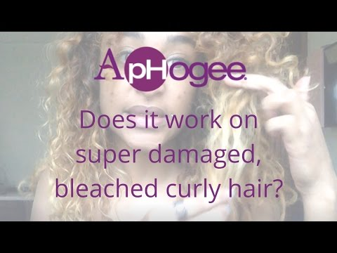 Aphogee protein treatment: Does it work on extremely damaged, curly hair?