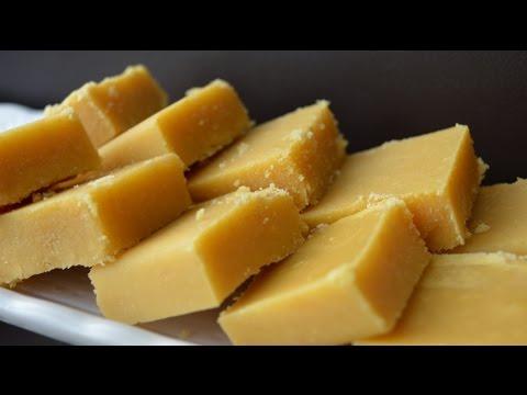 Ghee Mysore Pak - Indian Sweet Recipe