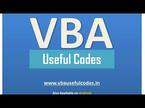Autofit Columns and Rows in Excel using VBA - VBA Useful Codes