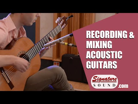Recording and Mixing an Acoustic Guitar