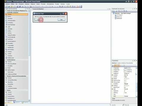 Microsoft Visual Studio 2008 Tutorial Botones 1