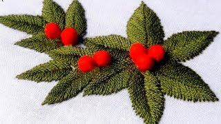 Hand Embroidery Leaf Videos 9tube Tv