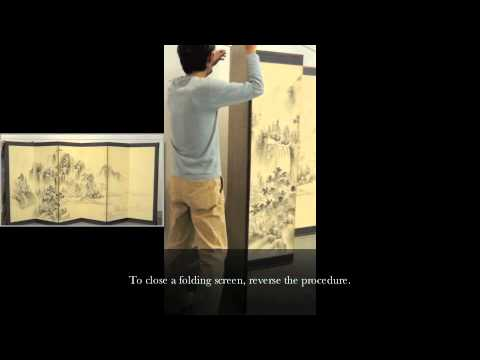 Safe Handling Practices for Japanese Folding Screens