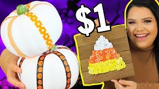 Download $1 Halloween Challenge! spooky szn on a budget Video