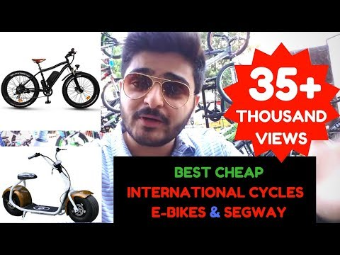Branded International Bikes & Fitness Items in Mumbai | Imported Cycles/E-bikes/Coco e- Bike