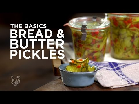 How to Make Bread & Butter Pickles - The Basics on QVC