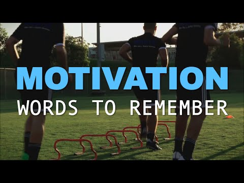 FOOTBALL MOTIVATION - Words to Remember [MOTIVATION]