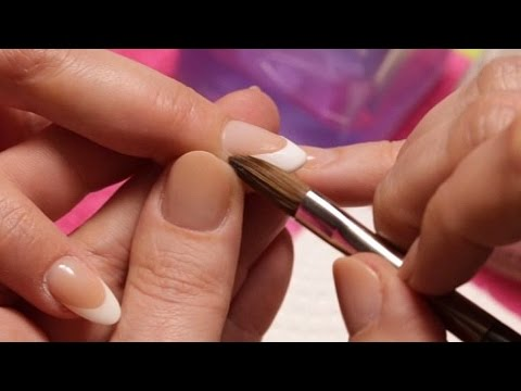 Acrylic Nails - How To Fill French Acrylic Nails