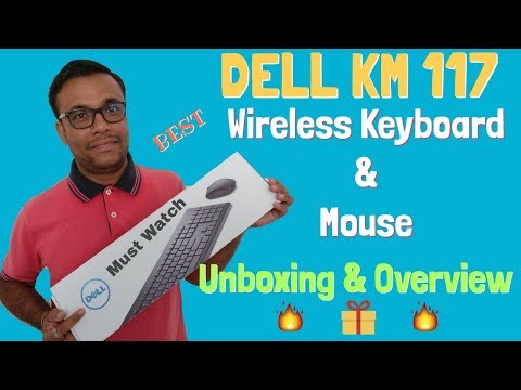 Dell KM117 Wireless Keyboard & Mouse - BEST KEYBOARD MOUSE - Unboxing Review 2018