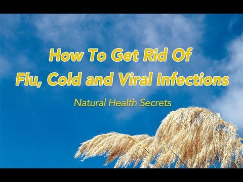 [Natural Health Secrets] Episode 12: How To Get Rid of Flu, Cold and Viral Infections