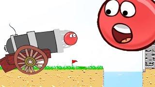 Red Ball 2.  Красный ШАРИК Король [2]. Мультик игра для детей.