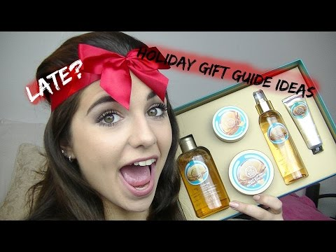 LATE?! Holiday Gift Guide Ideas!