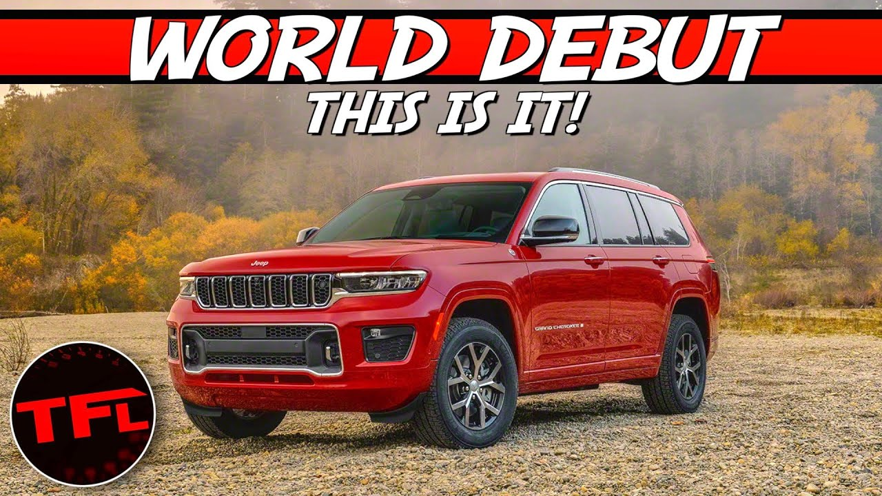 WORLD PREMIERE: Jeep Debuts All-New 2021 Grand Cherokee — Here's Everything You Need To Know!
