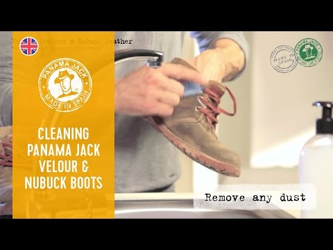 How to Clean Your Panama Jack Velour & Nubuck Boots