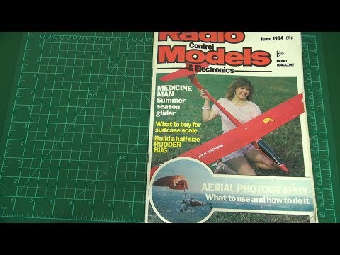 RC planes and helis in the pre-drone era (35 years ago)