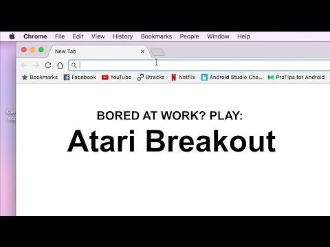 Bored at Work? Play: Atari Breakout on Google Hack