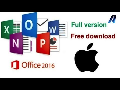 INSTALL MS-OFFICE 2016 ON YOUR  MAC  100% FREE !!( UPDATED & EASIER)