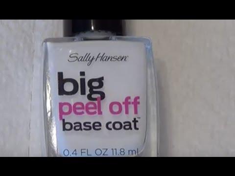 UPDATE: Sally Hansen Peel Off Base Coat | W/ Gel Polish | DIY | Review