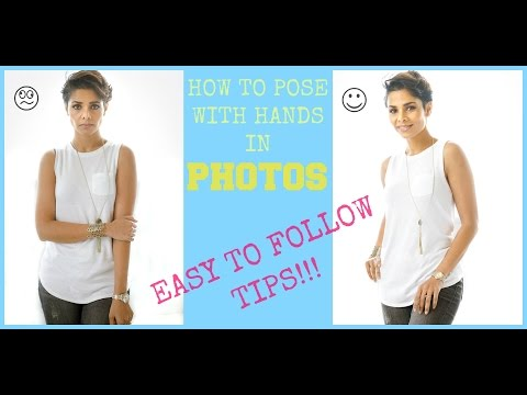 HOW TO POSE HANDS IN PHOTOS- Easy Tips/ LOOK BETTER IN PICTURES