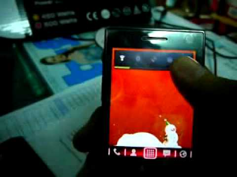 ANDROID POUR HTC TOUCH DIAMOND P3700