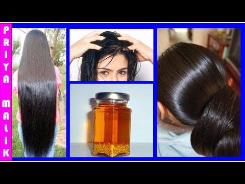Homemade Hair Oil to Prevent Hair Fall & Dandruff~Get Long Hair, Thick hair, Healthy Hair Naturally