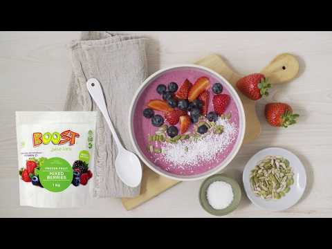 How to make a healthy breakfast smoothie bowl