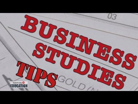 CBSE Class 12 Board Exam: Business Studies Tips