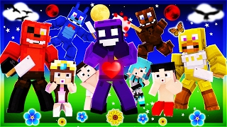 Minecraft - FNAF World 2 - KILLING PURPLE GUY?!