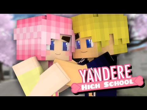 Yandere High School - THE FIRST DATE! (Minecraft Roleplay) Ep. 13