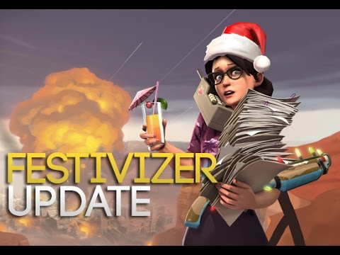 [TF2] Festivizer Update: DIY Festive Weapons