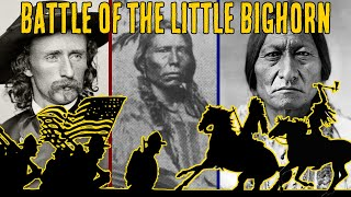 Battle Of The Little Bighorn | Custer's Last Stand | Sitting Bull And Crazy Horse Documentary