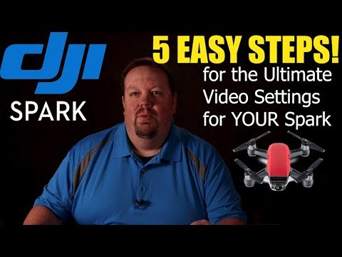 DJI Spark 5 EASY Steps for the Ultimate Video Settings (Freaky Fast Friday Tip of the Week)